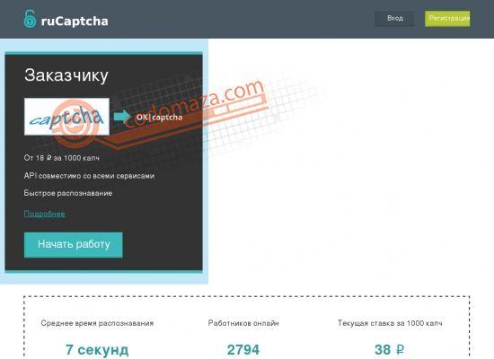 Анализ сайта rucaptcha com